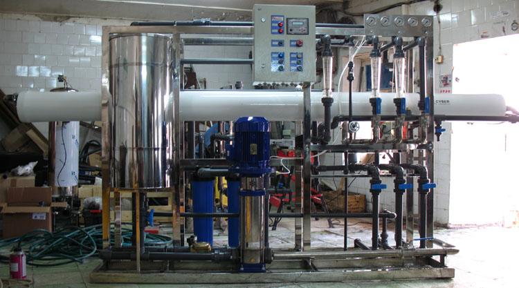 Мембранная установка промышленной водоподготовки