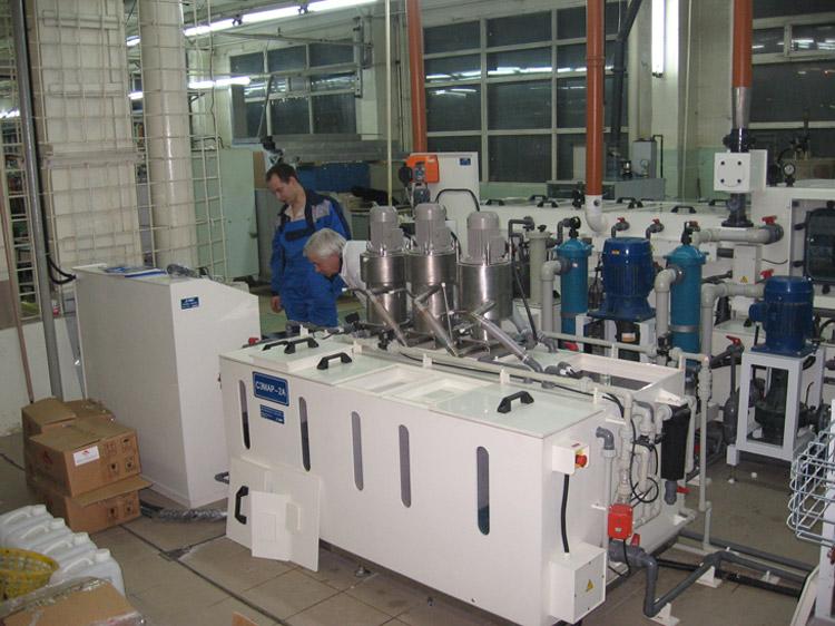 Пертрактор утилизации электролита химического никелирования