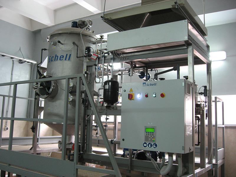 Выпарная установка для очистки сточных вод гальванического производства