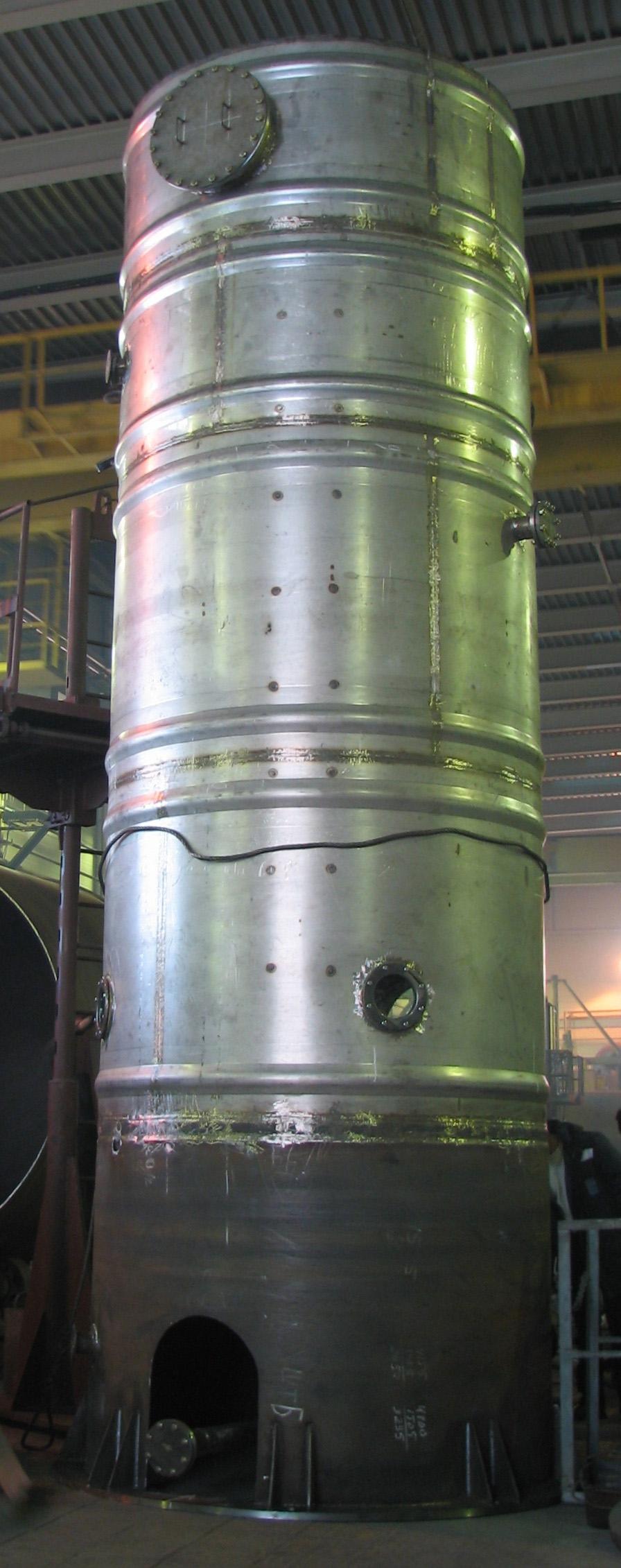 Реактор озонирования воды